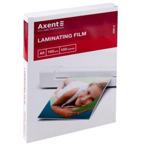 Плівка для ламінування 100мкм, А5 Axent 2080 ВМ 7754