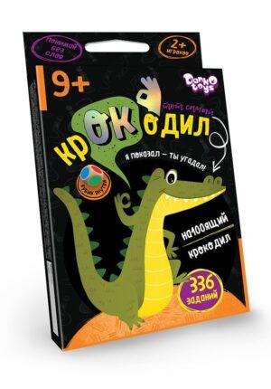 """Настільна гра вікторина """"Той самий крокодил"""" Danko Toys CROC-02-01U"""