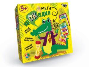 """Настільна гра вікторина """"Мега-крокодил"""" Danko Toys CROC-03-01U"""
