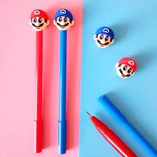 Ручка прикол 2563 Маріо