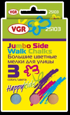 Крейда Джамбо 3кол VGR 25103