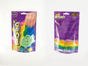Пісок кінетичний Danko Toys 600г в пакеті   KS-03-02