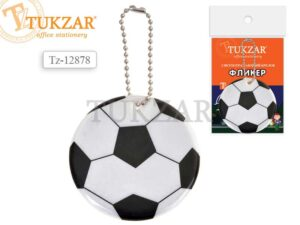 Брелок Tukzar світловідбиваючий 12878 футбольни мяч