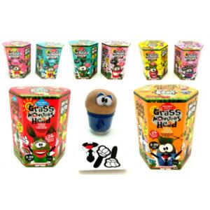 Набір для творчості Danko Toys Grass monsters head GMH-01