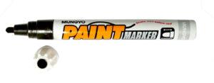 Маркер грубий Mungyo чорний Paint marker SP110 TT5401