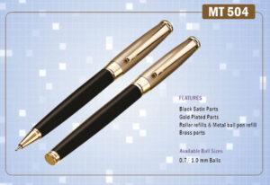 Ручка подарункова Krish металева  кулькова MT-504