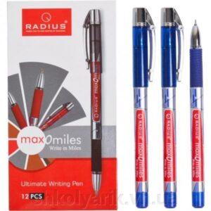 Ручка Radius 10км MAX-O-MILES чорна