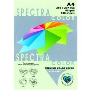 Папір А4 SPECTRA 500арк 80г/м2 IT190 зелений пастель