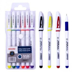 Набір гелевих ручок 801-6 6шт