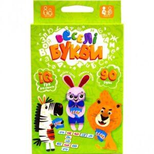 Гра Danko toys Веселі букви G-VB-01U