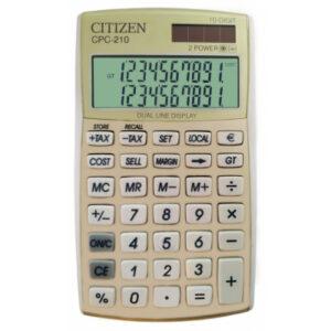 Калькулятор Citizen CPC-210GL