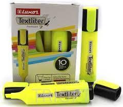 Текстмаркер Luxor  4011 жовтий