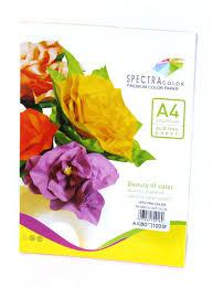 Папір кольоровий Spectra Color А4 80г/м2 ПАСТЕЛЬ 5*10 50арк it82T