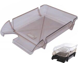 Лоток-компакт для документів пластиковий горизонтальний BM-80601