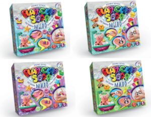 Набір для дитячої творчості Покосенко Пластилінове мило Playclay soap PCS-01-01U,02U велике
