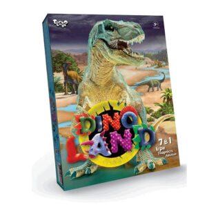 """Креативна творчість """"Dino  Land 7 в 1"""" DL-01-01U"""