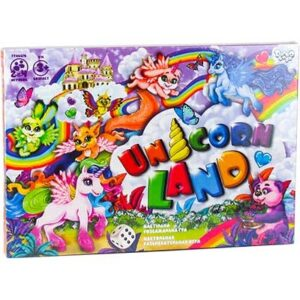 "Гра настільна Danko Toys  ""Unicorn Land"" DTG97"