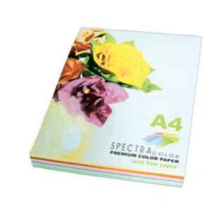 Папір кольоровий насичений мікс Spectra Color А4 80г/м2 Pastel 250арк 5*50 it82T