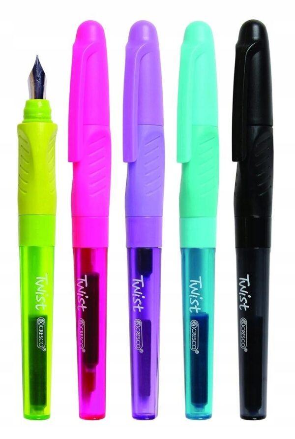 Ручка Cresco чорнильна для лівші Twist
