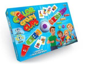 """Настільна розважальна гра """"Color Crazy Cups"""" CCC-01-01U"""