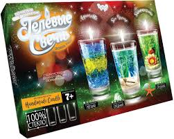 Набір для дитячої творчості Гелеві свічки своїми руками Danko Toys GS-02-01,GS-02-02