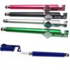 Ручка 5533 Sultani синя 3в1 підставка для телефону, зі стилусом