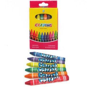 Воскові олівці Crayons 8кол 4236 26-8 8496-8