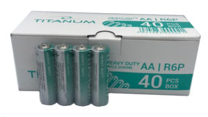 Батарейки Titanum R06