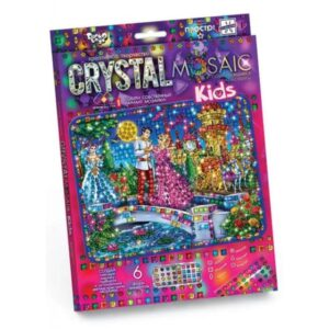 Алмазна мозаїка Danko Toys Crystal Mosaica KIDS, cart-01CRMk-01-01,02,03,04...10