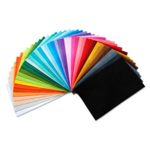 Набір кольорового фетру Josef Otten 170HQG 170г/м2 (10шт/уп) GLITTER