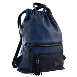 Рюкзак жіночий YES YW-11, джинсовий синій 556916