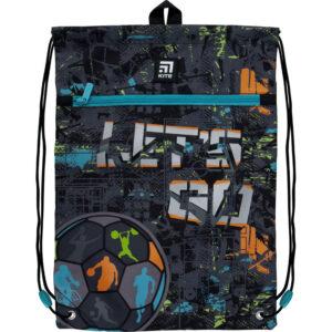 Сумка для взуття Kite з кишенею K21-601M-10 Let's go