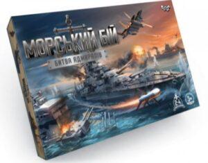 """Настільна розважальна гра """"Морський бій"""" G-MB-02U"""