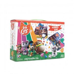 """Гра настільна """"44 Коти. Алмаз-Бум"""" VT8055"""