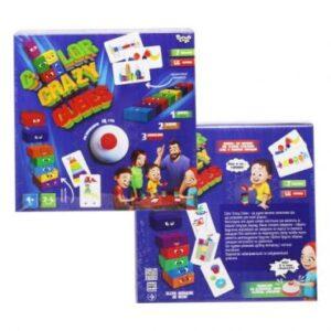 """Настільна розважальна гра """"Color Crazy Cubes"""" CCC-02-01U"""