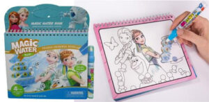 Альбом для творчості  малюємо водою  принцеса  23*20  2005-A1