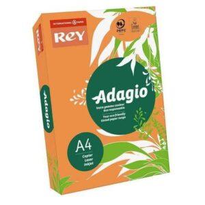 Папір кольор. А4/80 (500арк.) інт. Orange 21 (помаранчевий) REY Adagio Франція