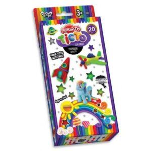 Тісто для ліпки  Danko Toys Master Do  TMD-15-01U   20 кольорів*20г