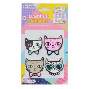 """Набір наклейок YES Leather stikers """"Cats"""" 531618"""