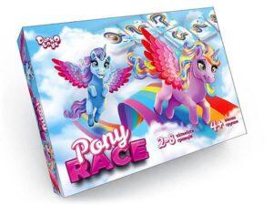 Гра Danko Toys настольна Pony Race G-PR-01-01