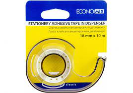 Диспенсер Economix для пакувальної клейкої стрічки 18  E40835 мм
