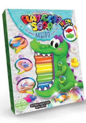 Набір для дитячої творчості Danko Toys Пластилінове мило Playclay soap PCS-03-01U,02U,03U,04 середнє