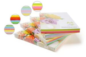 Папір кольоровий насичений мікс Spectra Color А4 160г/м2 пастель IT82M 5*20 100арк