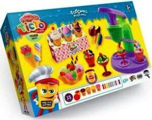 """Тісто для ліпки  Danko Toys Master Do """"Фабрика морозива"""" TMD-06-01"""