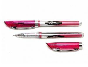 Ручка Flair 743 BL Writometr ball 10км фіолетова
