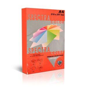 Папір А4 SPECTRA 250арк 160г/м2 IT250 червоний інтенсив IT22