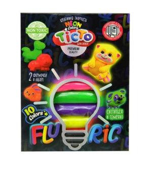 Пластилін Danko Toys Master Do Fluoric 10кол TMD-FL-10