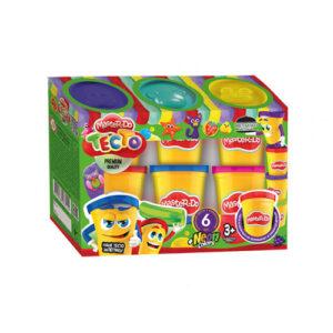 Пластилін Danko Toys Master Do 6кол в банках TMDB-01-01