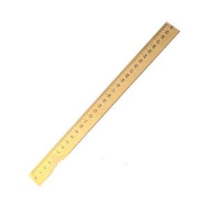 Лінійка деревяна 30см з нанесенням (шовкографія)