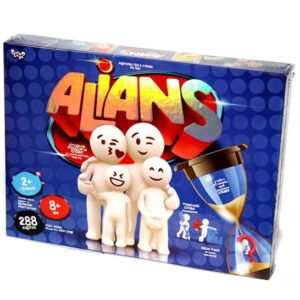 Настільна гра Danko Toys Alians G-ALN АЛЬЯНС G-ALN-01USPG-92U